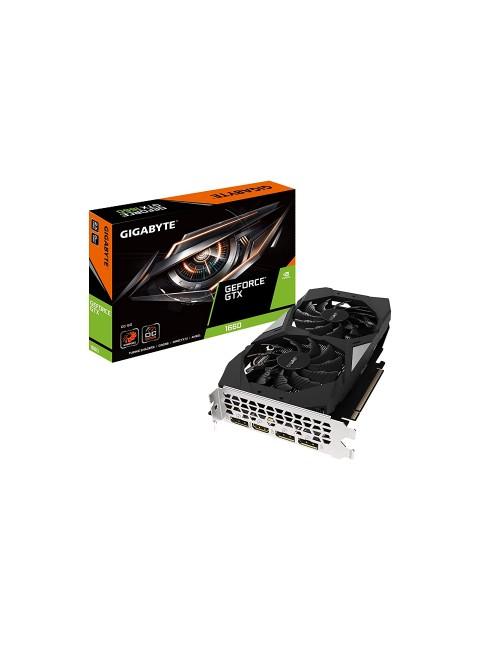 GIGABYTE GTX 1660 DDR5 OC 6G (DUAL FAN)