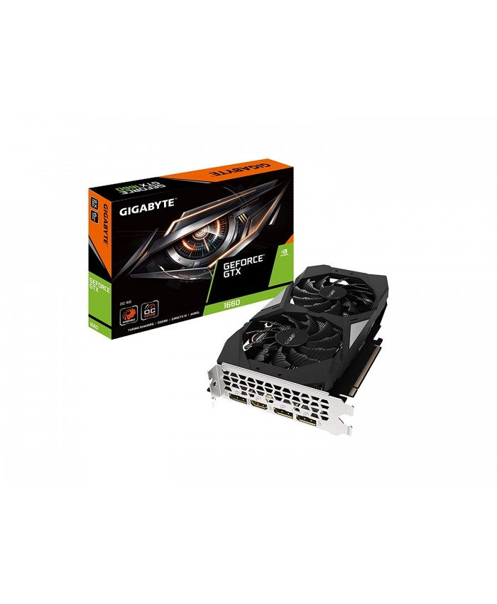 GIGABYTE GTX 1660 6GB GDDR5 OC (DUAL FAN)