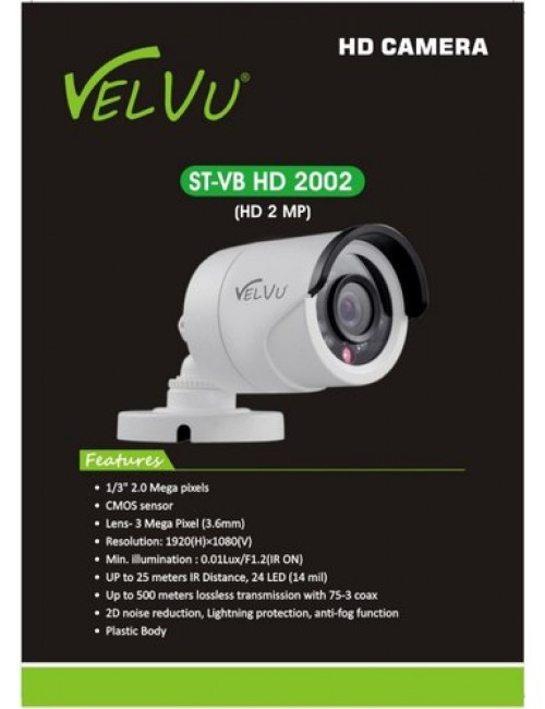 VELVU BULLET 2 MP (ST-VB-HD-2002) 3.6mm