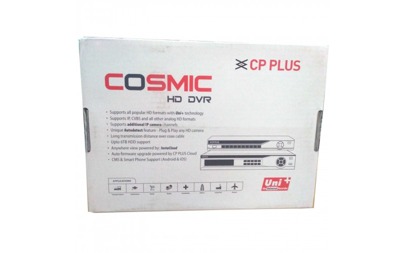 CP PLUS 16 CH 5 MP (CP-UVR-1601F1)