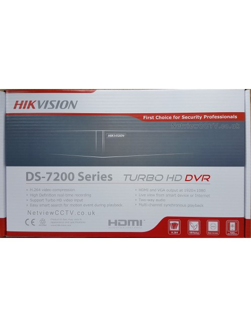 HIKVISION 4 CH METAL 2 MP (7B04HQHI K1)
