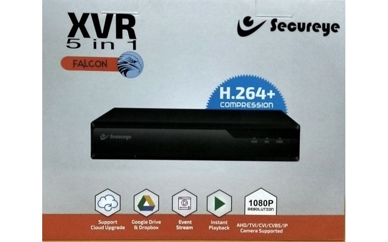 SECUREYE 4 CH DVR 2 MP FALCON (S-XVR-1)