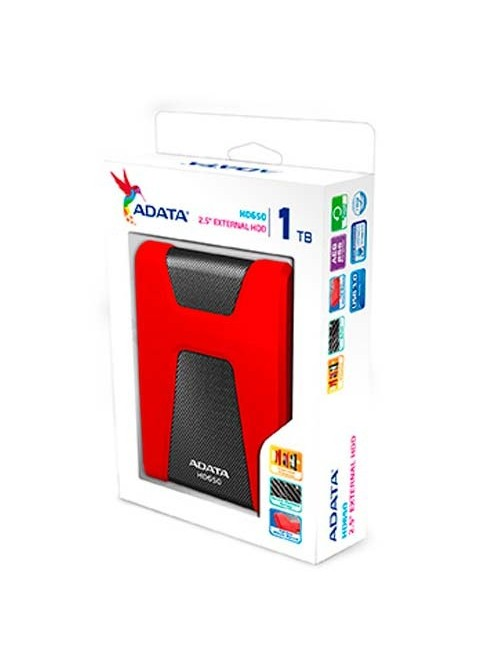 "ADATA EXTERNAL HARD DISK 1 TB 2.5"" (HD650)"