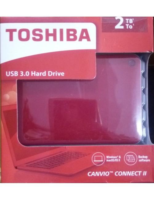 """TOSHIBA CANVIO CONNECT 2 TB 2.5"""""""