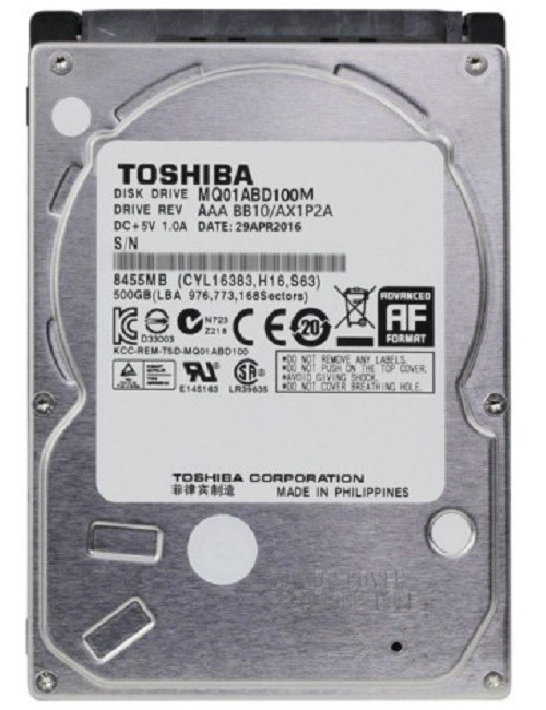 TOSHIBA LAPTOP 1 TB