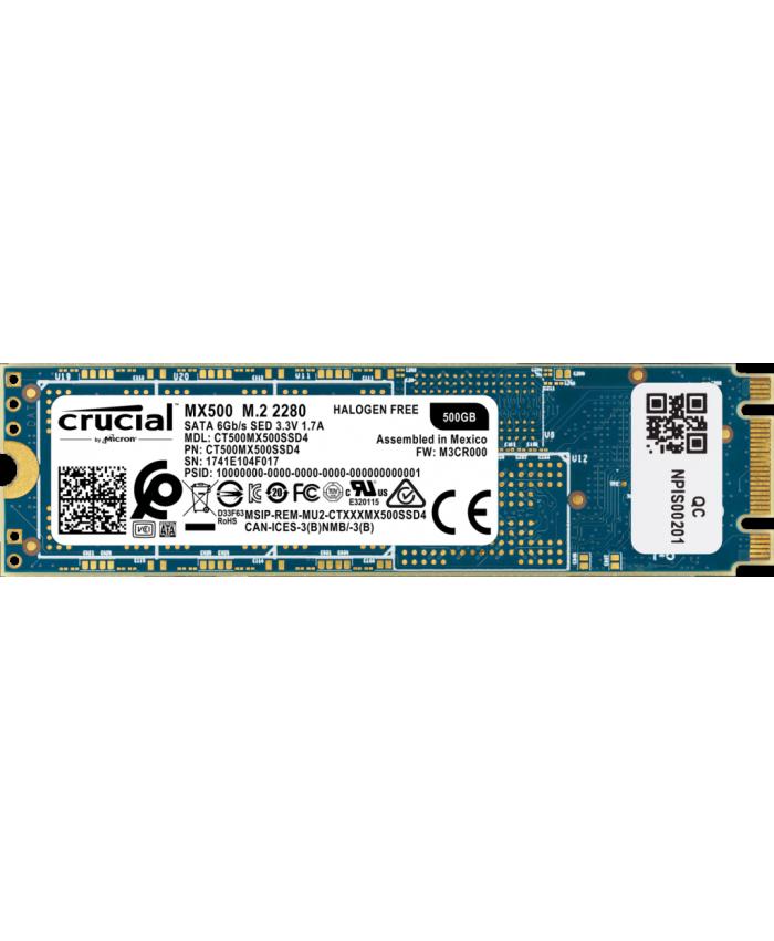 CRUCIAL SSD 500GB M.2 (MX500)