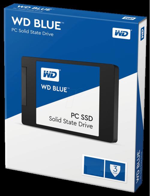 WD SSD 500 GB (BLUE)