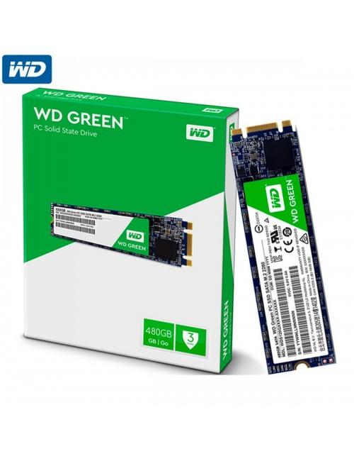 WD SSD 480 GB M.2 (GREEN)