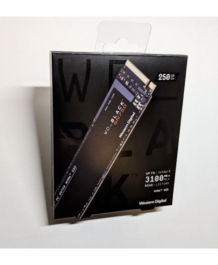 WD SSD BLACK 250GB NVME (SN750)