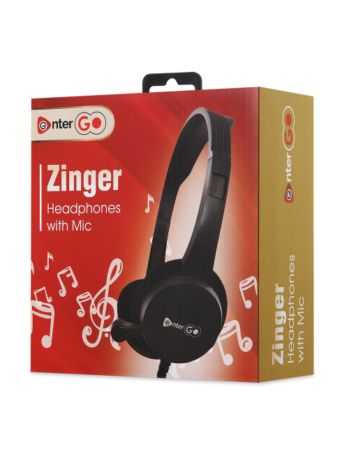 ENTERGO WIRED HEADPHONE ZINGER (SINGLE PIN)