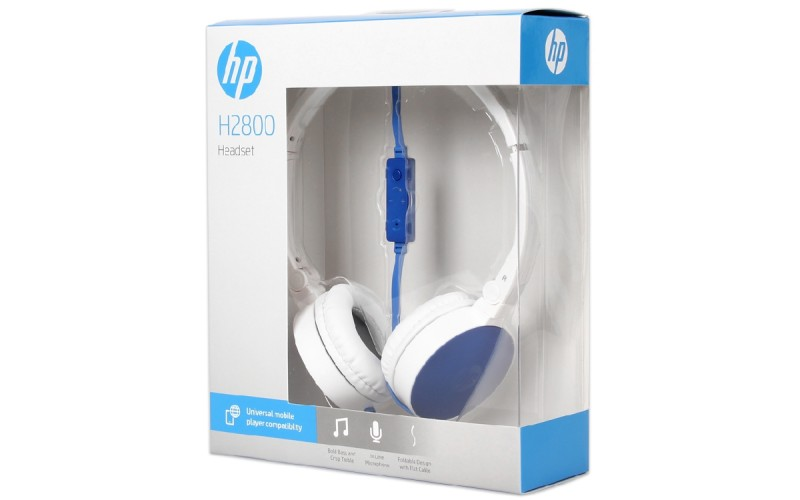 HP WIRED HEADPHONE H2800 (SINGLE PIN)