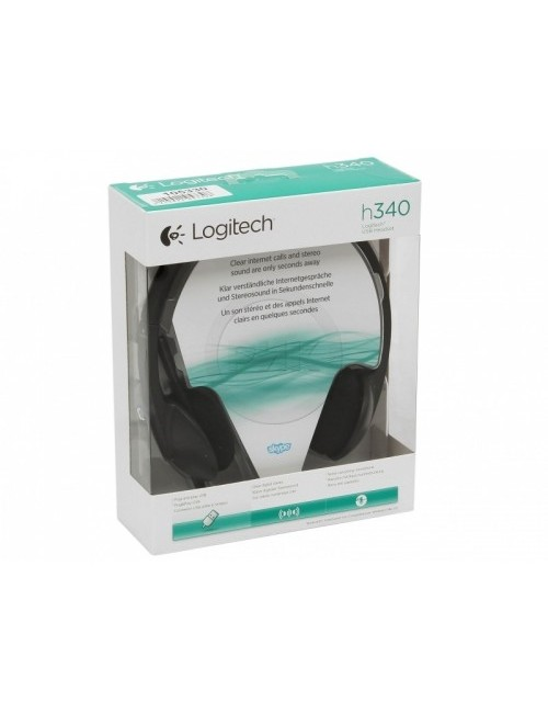 LOGITECH HEADPHONE USB H340