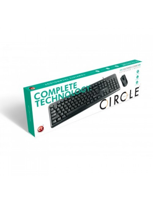 CIRCLE WIRED COMBO USB C41