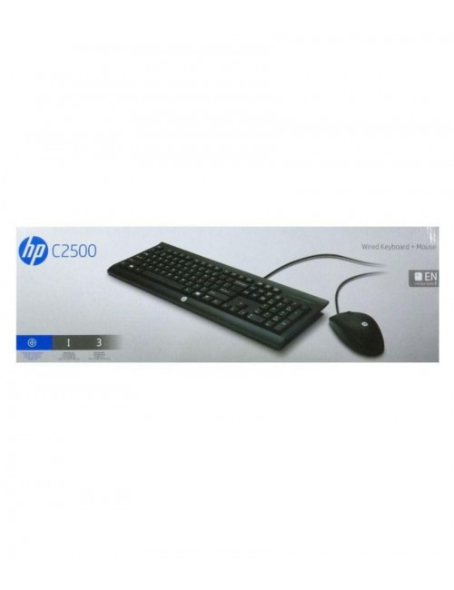 HP WIRED KEYBORD MOUSE COMBO (C2500)