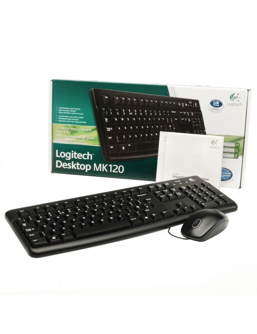 LOGITECH WIRED COMBO MK120