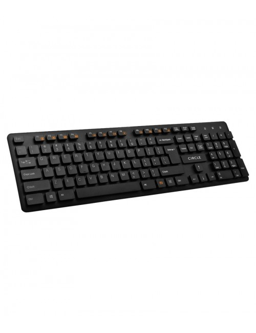 CIRCLE KEYBOARD USB C23 BLACK