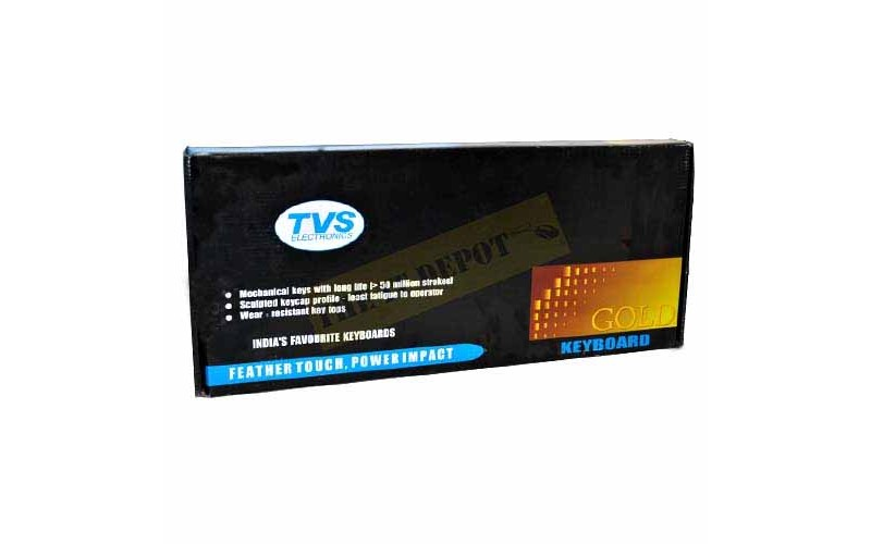 TVS KEYBOARD GOLD USB