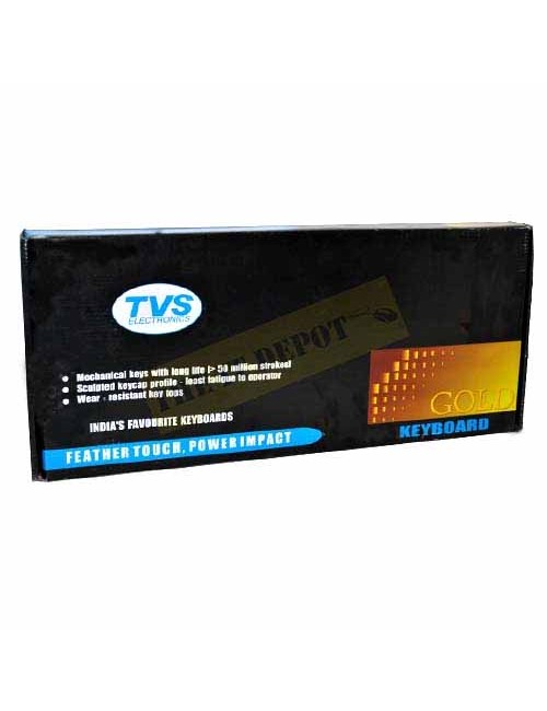 TVS KEYBOARD GOLD PS2