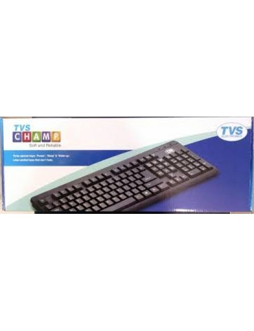 TVS KEYBOARD CHAMP USB XL