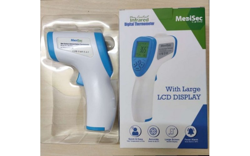INFRARED DIGITAL THERMOMETER MEDISEC
