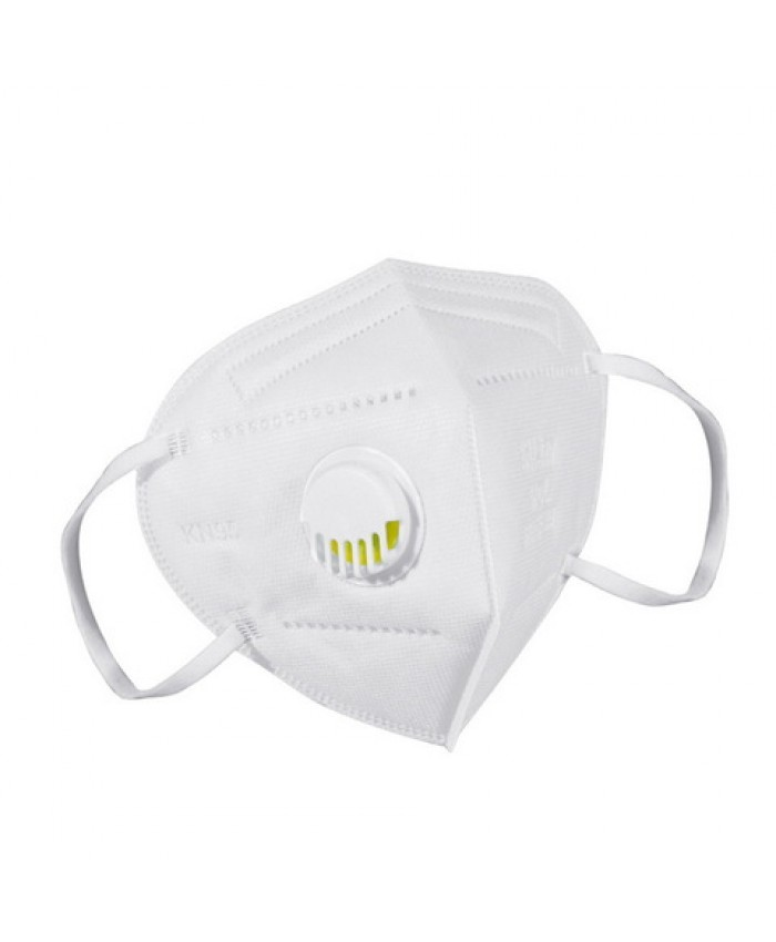KN95 FACE MASKS WITH VALVE (PACK OF 15) NON MEDICAL