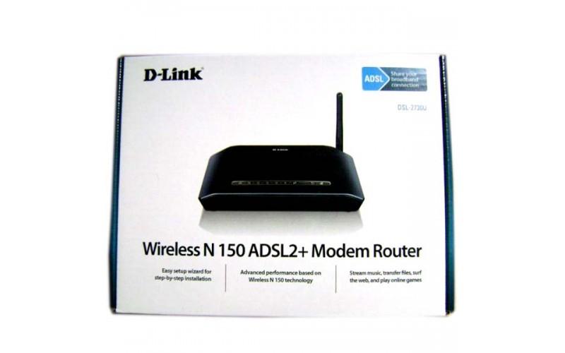 D LINK 150 MBPS MODEM + ROUTER 2730U
