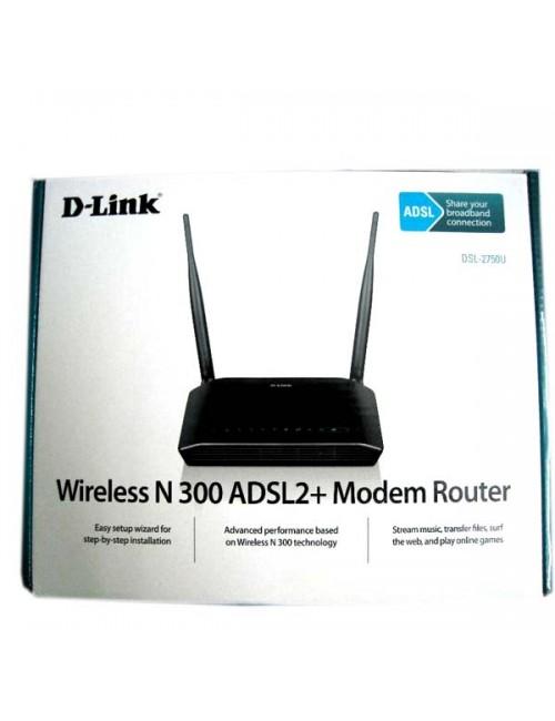 D LINK 300 MBPS MODEM + ROUTER 2750U