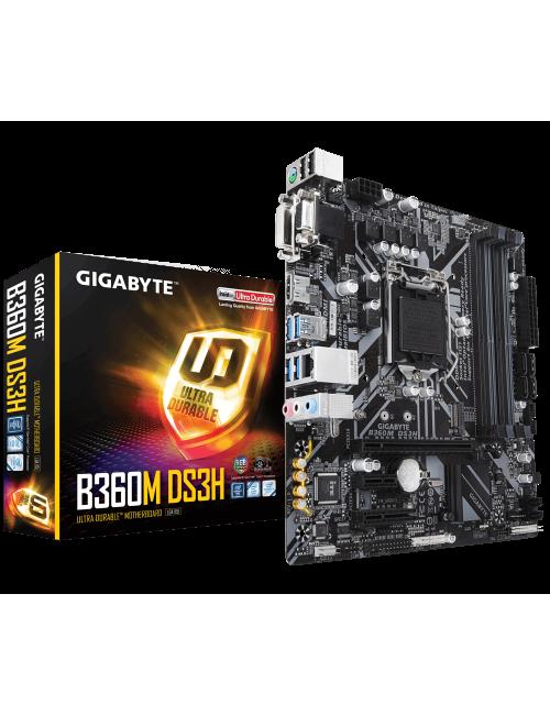 GIGABYTE MOTHERBOARD 360 (B360M-DS3H)