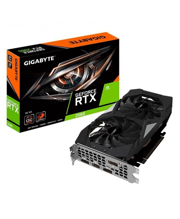 GIGABYTE RTX 2060 6GB GDDR6 OC (DUAL FAN)