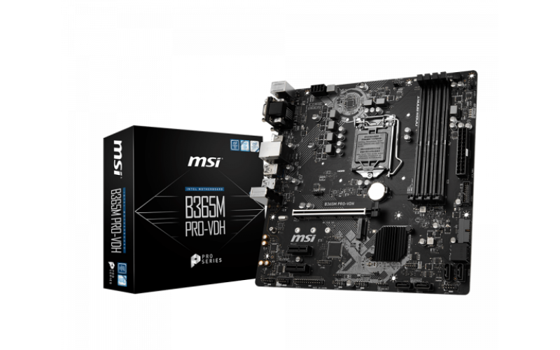 MSI MOTHERBOARD 365 (B365M PRO-VDH)