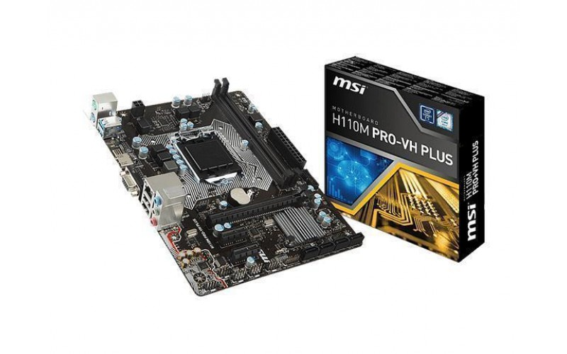 MSI MOTHERBOARD 110 (H110M-PRO-VH-PLUS)