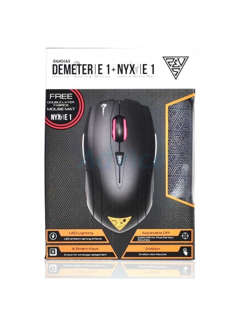 GAMDIAS DEMETER E1 WIRED GAMING MOUSE