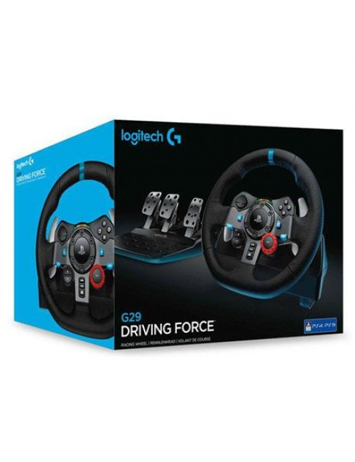 LOGITECH RACING WHEEL G29 + DRIVING FORCE SHIFTER