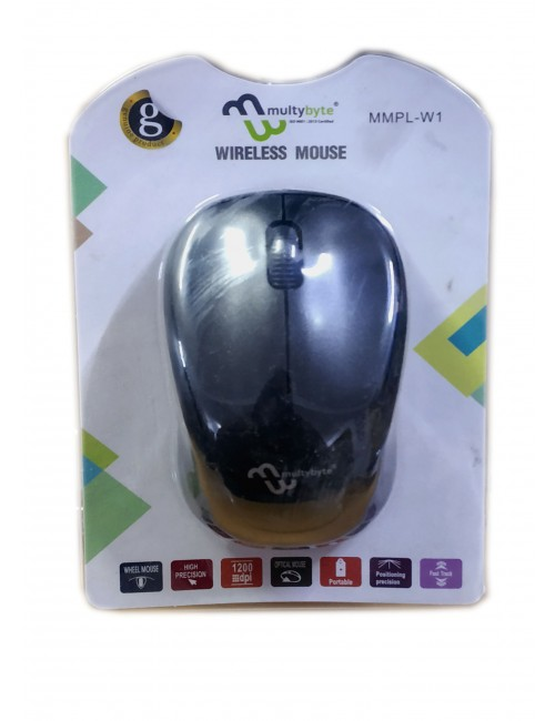 MULTYBYTE WIRELESS MOUSE W1