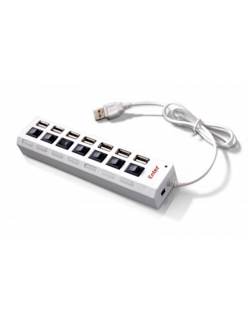 ENTER USB HUB 2.0 7 PORT (E HP70)