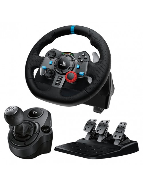 LOGITECH RACING WHEEL G29 + DRIVING FORCE SHIFTER