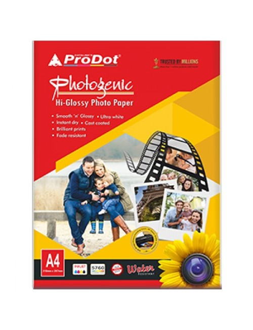 PRODOT GLOSSY PAPER 130 GSM (50 SHEETS)