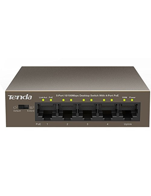 TENDA 5 PORT POE 1105P (4 POE + 1 NORMAL)