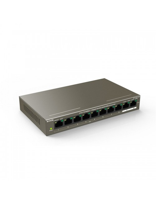 TENDA 10 PORT POE 1110P (8 + 2 GIGA UP LINK)
