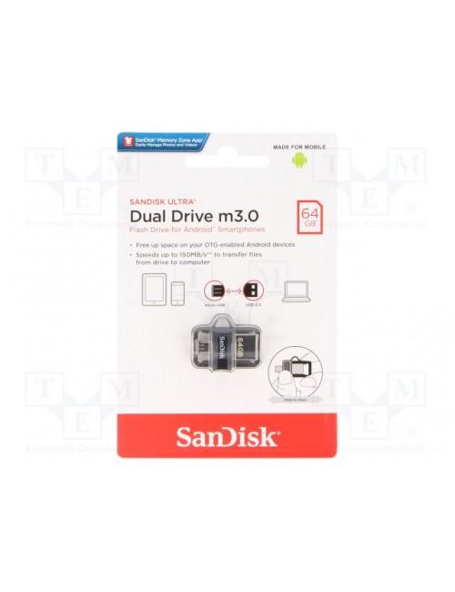 SANDISK PENDRIVE 64 GB 3.0 OTG