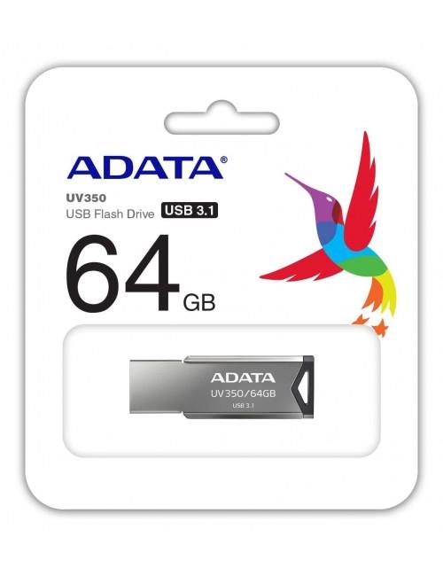 ADATA PENDRIVE 64GB 3.1 METAL (UV350)