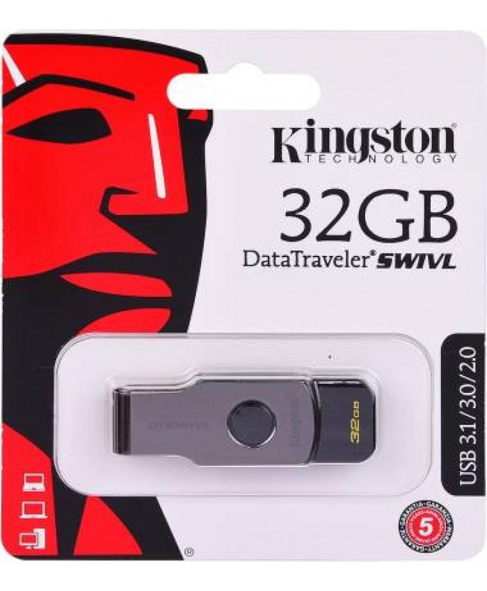 KINGSTON PENDRIVE 32 GB 3.0 (SWIVL)