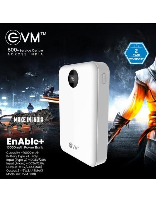 EVM POWER BANK 10000 MAH (ENABLE+)