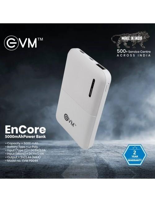 EVM POWER BANK 5000 MAH (ENCORE P0044)