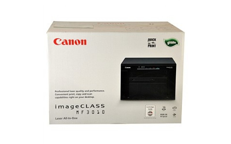 CANON LASER PRINTER MF3010 MULTIFUNCTION