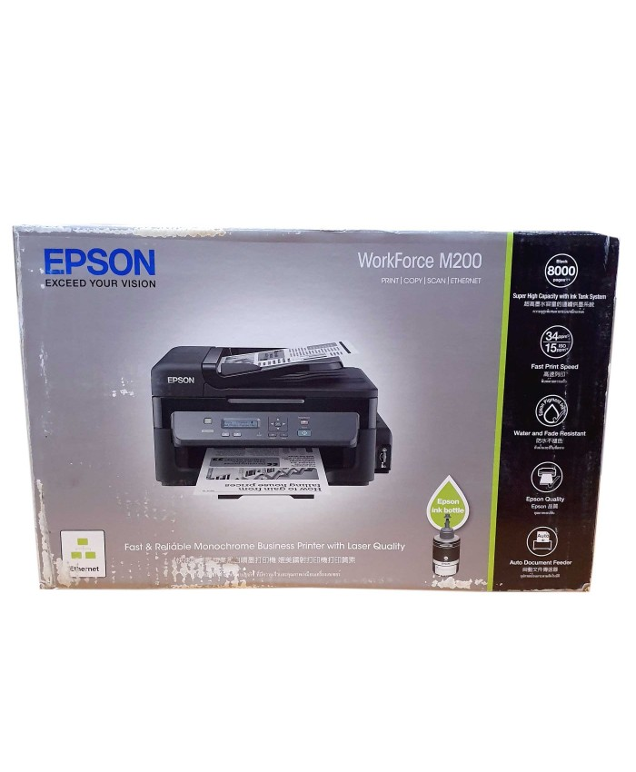 EPSON ECO TANK M200 MULTIFUNCTION PRINTER