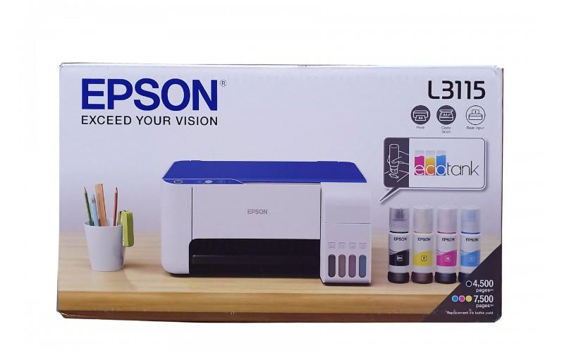 EPSON INK TANK PRINTER L3115 A4 MULTIFUNCTION