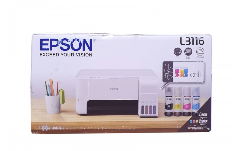 EPSON INK TANK PRINTER L3116 MULTIFUNCTION