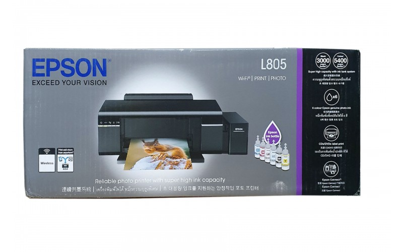 EPSON L805 MULTIFUNCTION INK TANK PRINTER