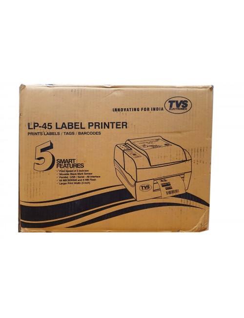 TVS BARCODE LABEL PRINTER LP45